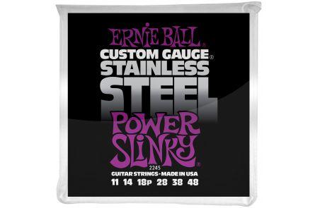 Ernie Ball 2245 Stainless Steel Power Slinky .011 - .048
