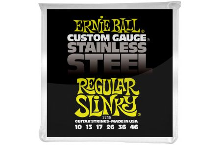 Ernie Ball 2246 Stainless Steel Regular Slinky .010 - .046