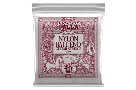 Ernie Ball 2409 Ernesto Palla Nylon Ball End .028 - .042