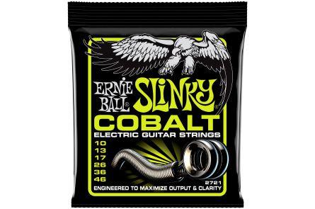 Ernie Ball 2721 Cobalt Regular Slinky .010 - .046
