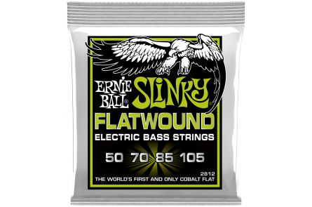 Ernie Ball 2812 Cobalt Flatwound Regular Slinky Bass .050 - .105