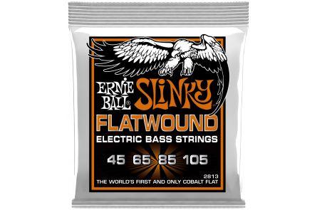Ernie Ball 2813 Cobalt Flatwound Hybrid Slinky Bass .045 - .105