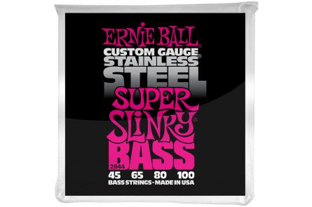 Ernie Ball 2844 Stainless Steel Super Slinky Bass .045 - .100