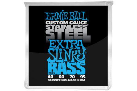 Ernie Ball 2845 Stainless Steel Extra Slinky Bass .040 - .095