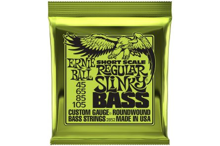 Ernie Ball 2852 Regular Slinky Short Scale Bass .045 - .105