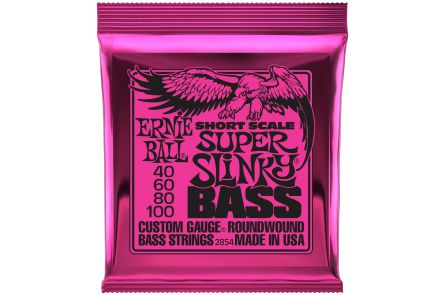 Ernie Ball 2854 Super Slinky Short Scale Bass .040 - .100