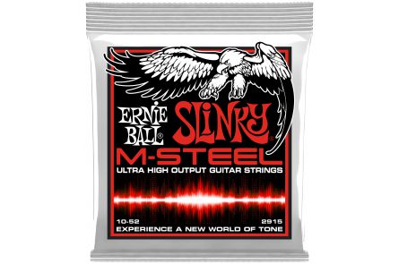 Ernie Ball 2915 M-Steel Skinny Top Heavy Bottom Slinky .010 - .052