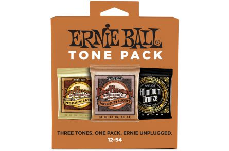 Ernie Ball 3313 3x Acoustic / Phosphor Bronze / Aluminium .012 - .054 - Tone Pack
