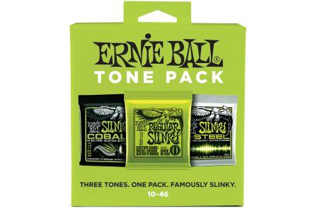 Ernie Ball 3331 3x Slinky / Cobalt / M-Steel .010 - .046 - Tone Pack