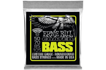 Ernie Ball 3832 Coated Regular Slinky Bass .050 - .105