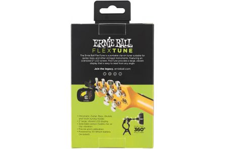 Ernie Ball 4112 Flex Tune Clip-On - Black