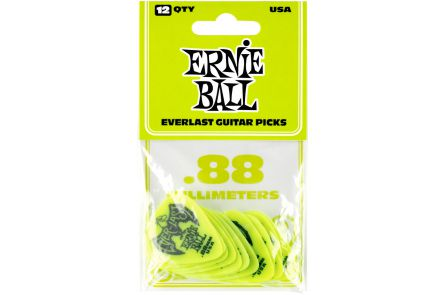 Ernie Ball 9191 Everlast Guitar Pick Heavy - Green - 12 Pack