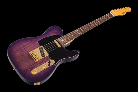 ESP 800 Series Custom Shop Tele STPB - See Thru Purple Burst