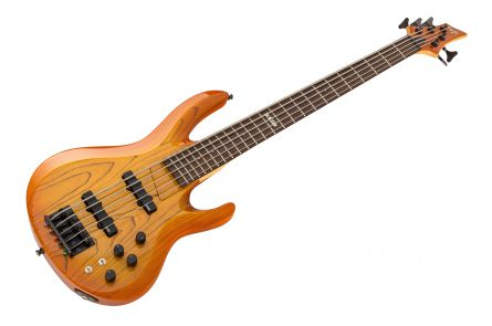 ESP Custom Shop B-5 Bass ACSB - Amber Cherry Sunburst