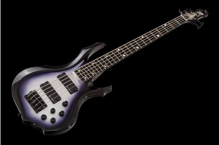 ESP E-II DY-5 - Black Purple Silver Sunburst - Doris Yeh Signature