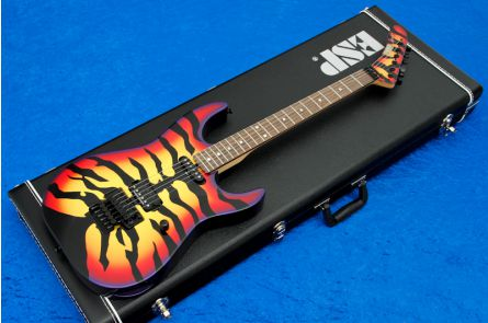 ESP George Lynch Sunburst Tiger CS - Custom Shop