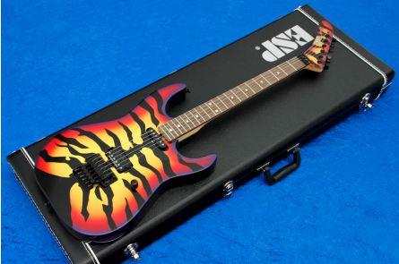 ESP George Lynch Sunburst Tiger CS - Custom Shop