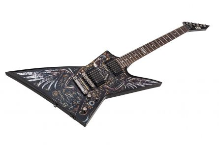 ESP Ltd EX-Graphic Clockwork Zombie II Limited Edition