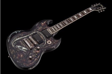 ESP Ltd Viper Graphic Clockwork Zombie II Limited Edition