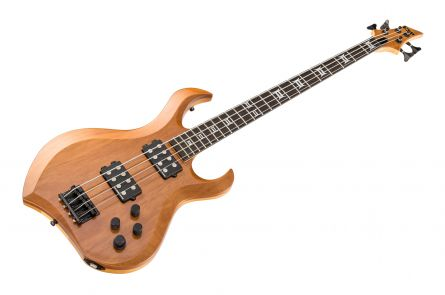 ESP Custom Shop MD-1 Neck-Thru Bass NG - Natural Gloss
