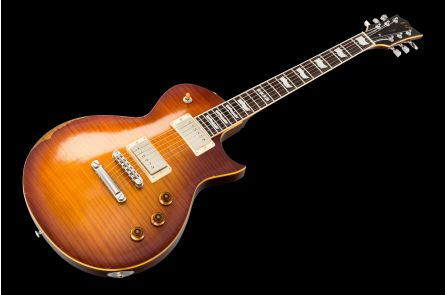 ESP Eclipse-II USA Duncan Aged AHB - Aged Honey Burst