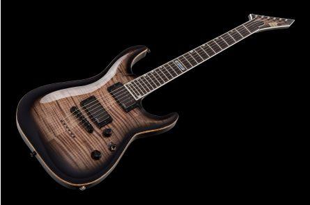ESP USA Horizon-II NT FM EMG STBLK - See Thru Black - Custom Shop