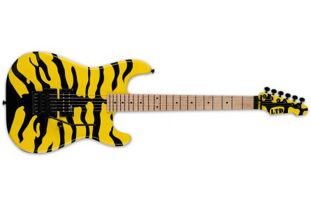 ESP Ltd GL-200MT - Yellow w/ Tiger Graphic - George Lynch Signature