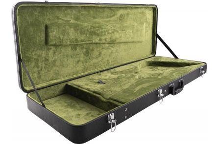 EVH Shark Case - Black with Green Interior