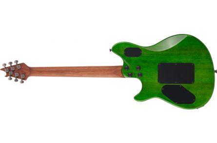 EVH Wolfgang Standard QM MN Transparent Green
