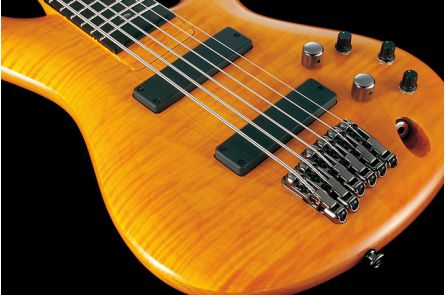 Ibanez GVB1006 AM Gerald Veasley Signature - Amber - b-stock