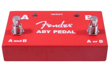 Fender 2-Switch ABY Pedal - Red
