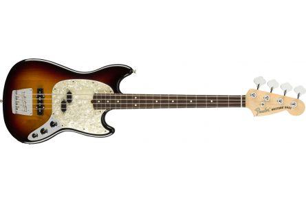 Fender American Performer Mustang Bass MN 3-Color Sunburst