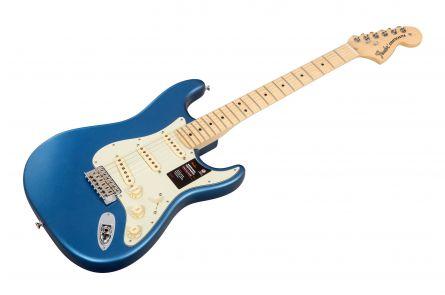 Fender American Performer Stratocaster MN - Satin Lake Placid Blue