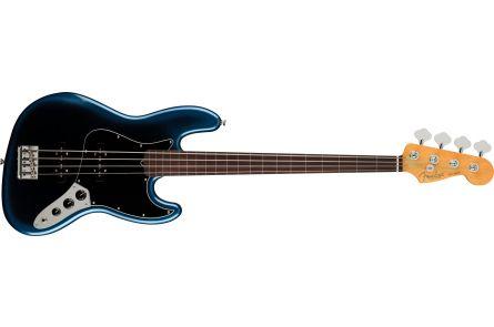 Fender American Professional II Jazz Bass Fretless MN Dark Night