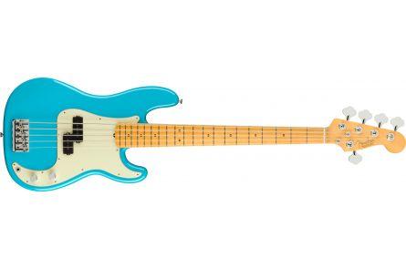 Fender American Professional II Precision Bass V MN - Miami Blue