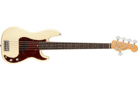 Fender American Professional II Precision Bass V RW - Olympic White