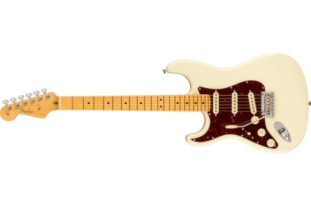 Fender American Professional II Stratocaster Left-Hand MN Olympic White