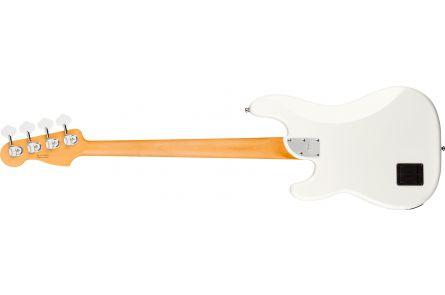 Fender American Ultra Precision Bass MN - Arctic Pearl