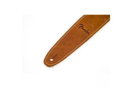 Fender Ball Glove Leather Strap - Brown