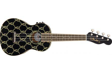 Fender Billie Eilish Uke - Walnut Fingerboard - Black