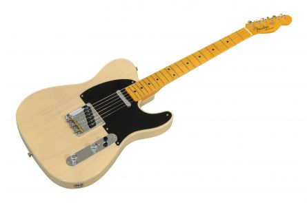 Fender 70th Anniversary Broadcaster MN Blackguard Blonde V2095690
