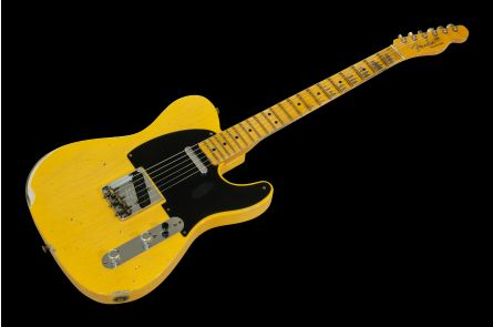 Fender Custom Shop 70th Anniversary Broadcaster Relic - Aged Nocaster Blonde