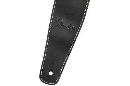 Fender Broken-In Leather Strap - Black 2.5