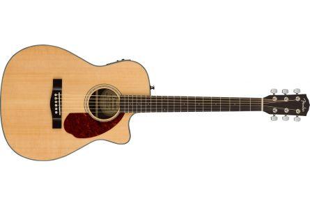 Fender CC-140SCE Concert - Walnut Fingerboard - Natural w/case