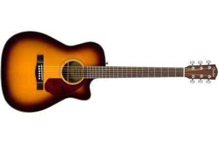 Fender CC-140SCE Concert - Walnut Fingerboard - Sunburst w/case