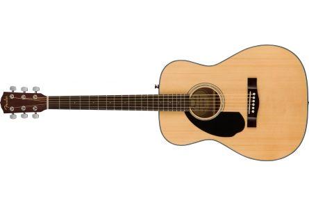 Fender CC-60S Concert LH - Walnut Fingerboard - Natural