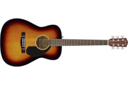 Fender CC-60S Concert - Walnut Fingerboard - 3-Color Sunburst