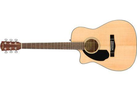 Fender CC-60SCE Concert LH - Walnut Fingerboard - Natural