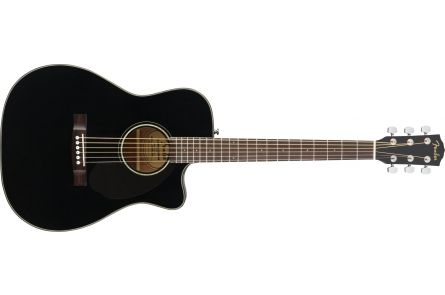Fender CC-60SCE Concert - Walnut Fingerboard - Black