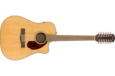 Fender CD-140SCE 12-String - Walnut Fingerboard - Natural w/Case